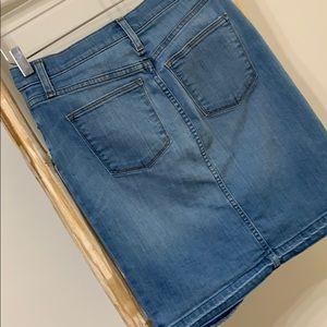 J. Crew Skirts - JCREW | 27 | denim pencil skirt w/ released hem